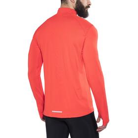 Nike Dri-Fit Element Hardloopshirt lange mouwen Heren oranje